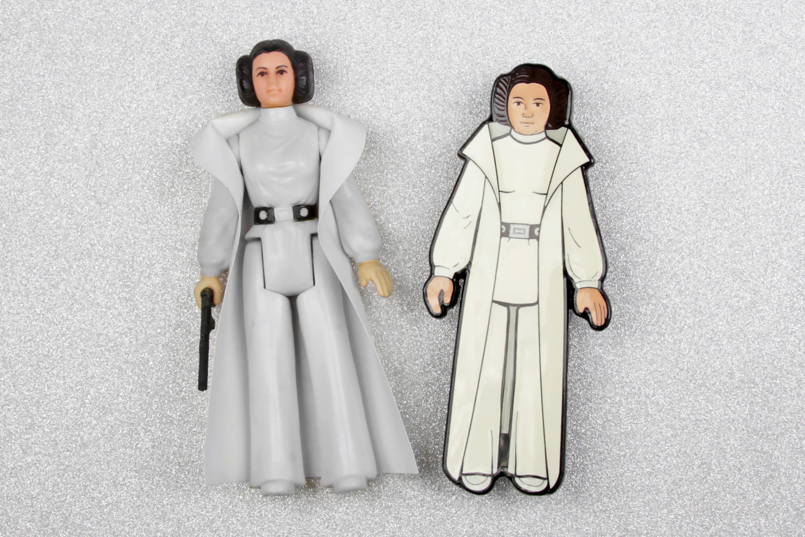 Review – Princess Leia Action Figure Pin
