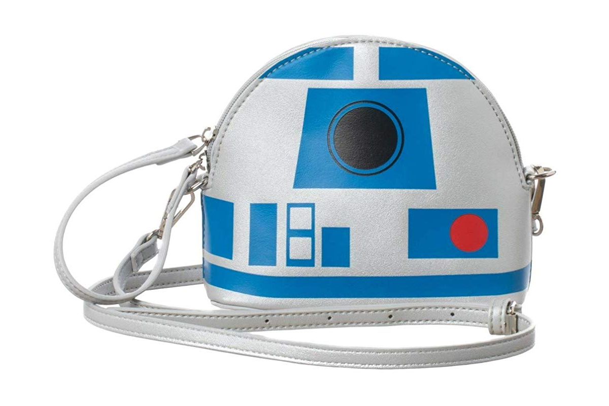 Bioworld Star Wars R2-D2 Crossbody Handbag