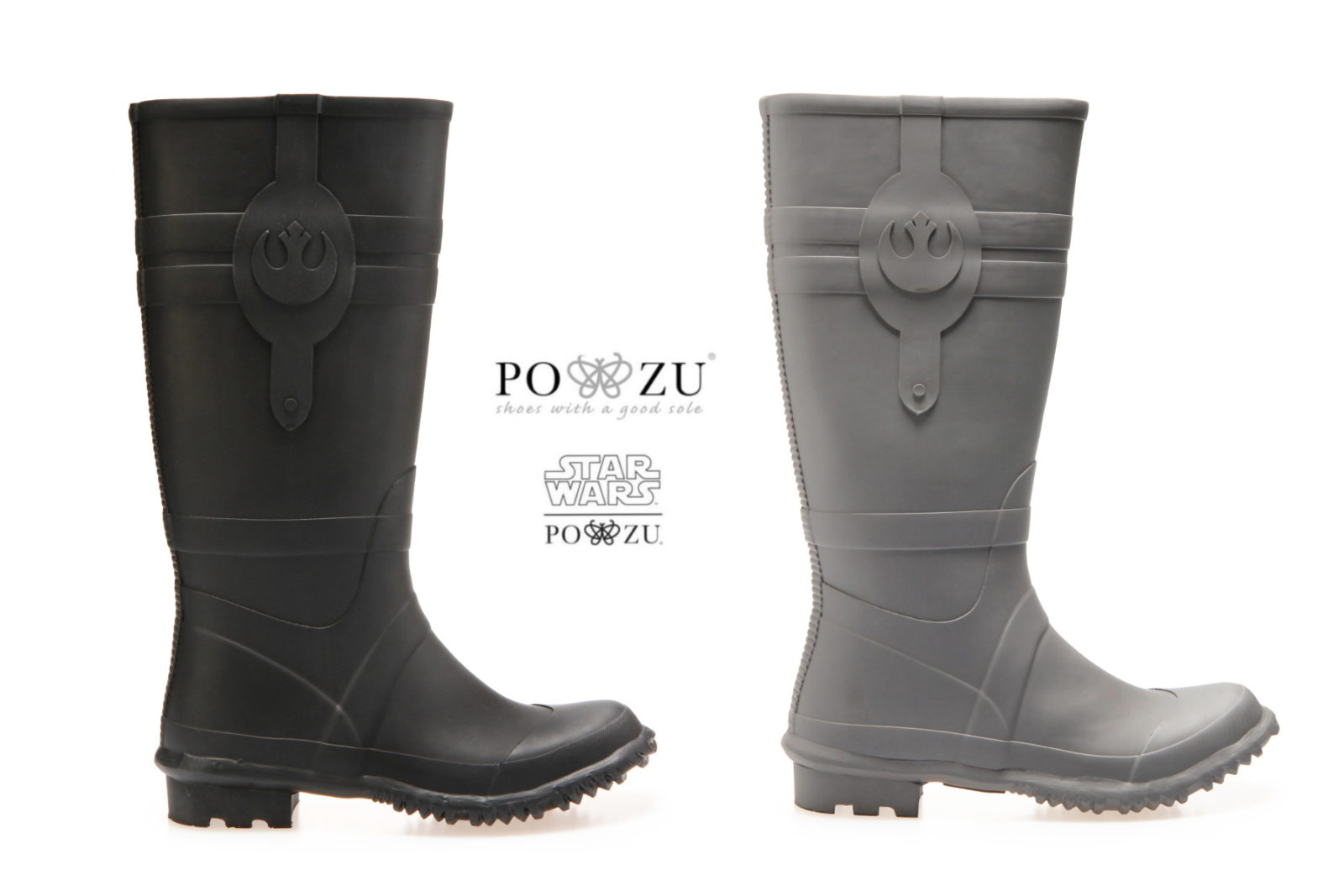 New Po-Zu Star Wars Resistance Rain Boots