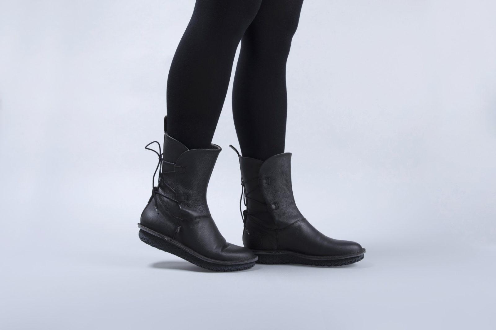 New Women's Dark Rey Boots by Po-Zu!