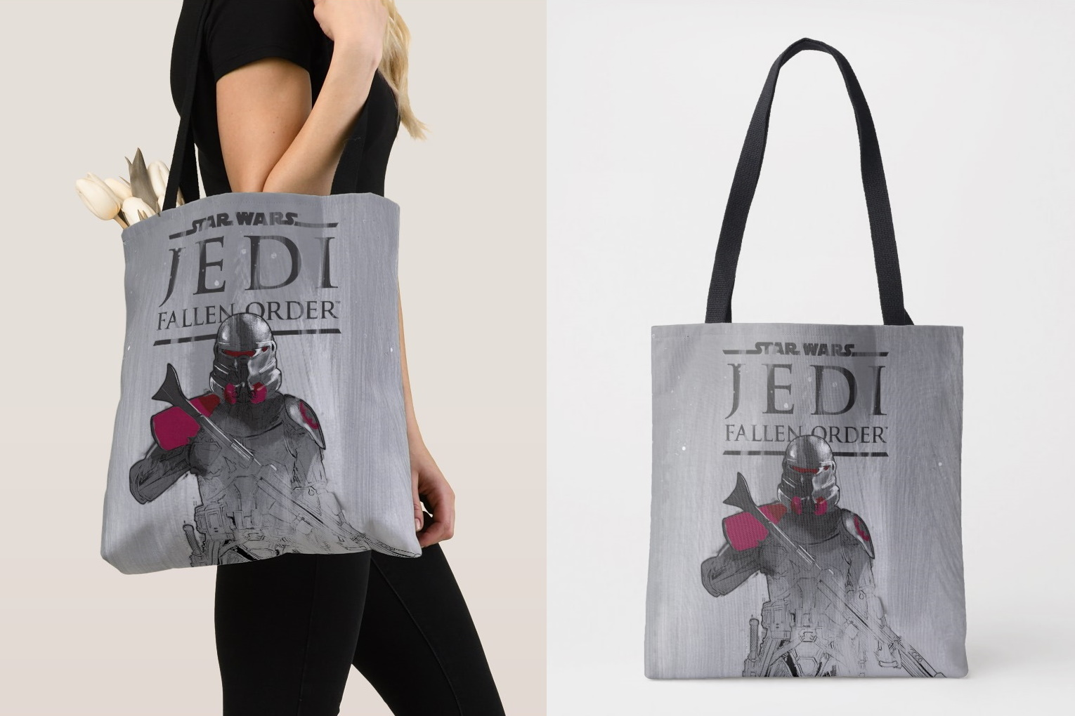 Jedi Fallen Order Tote Bag at Shop Disney