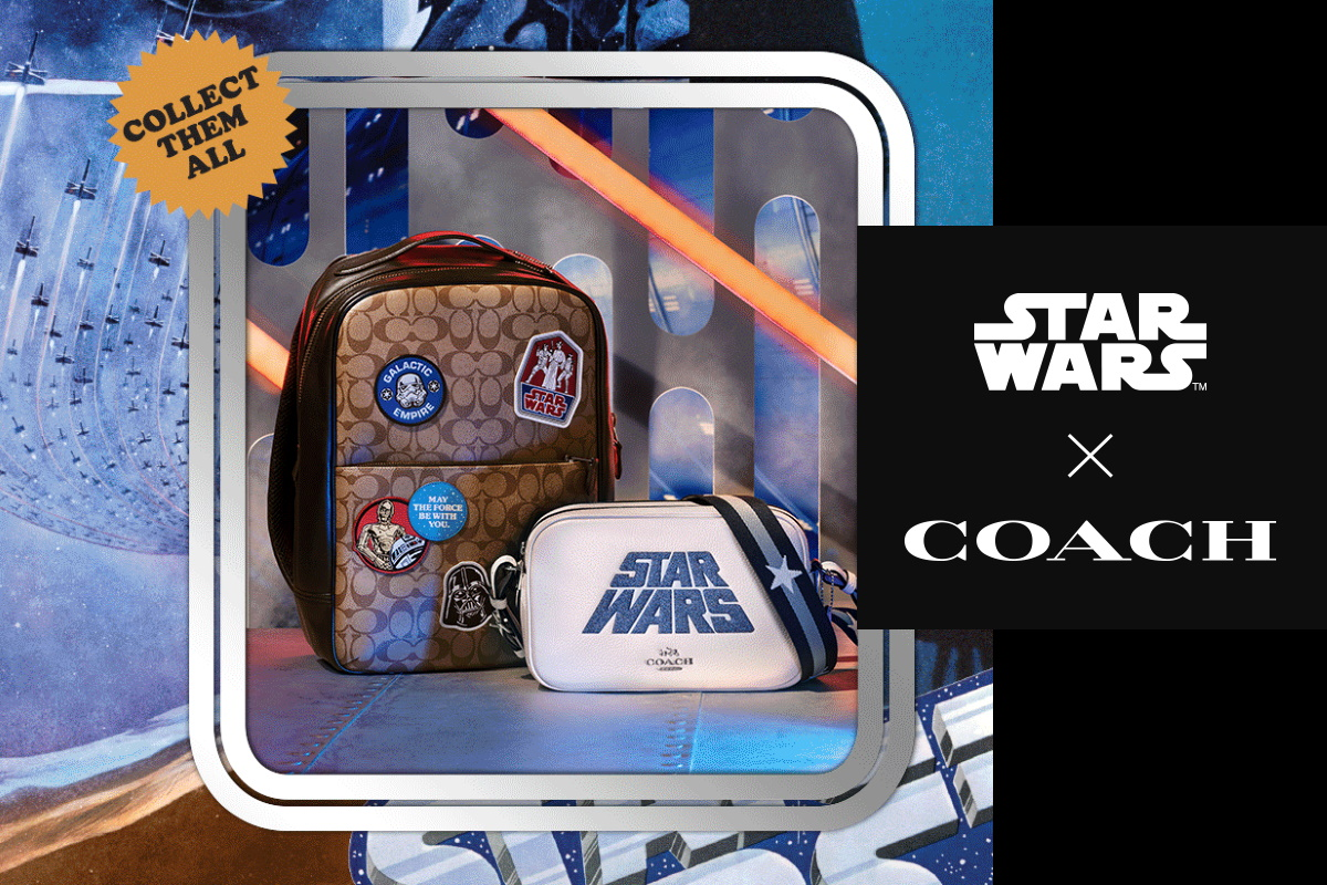 Cantina Chatter – Coach x Star Wars Collection