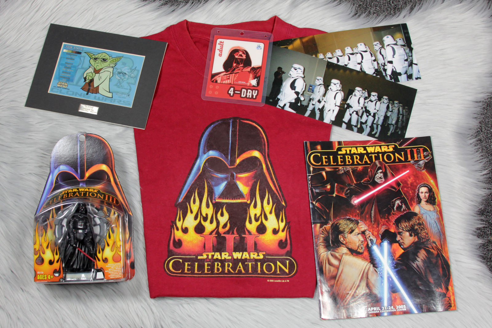 Celebration III T-Shirts and Merch