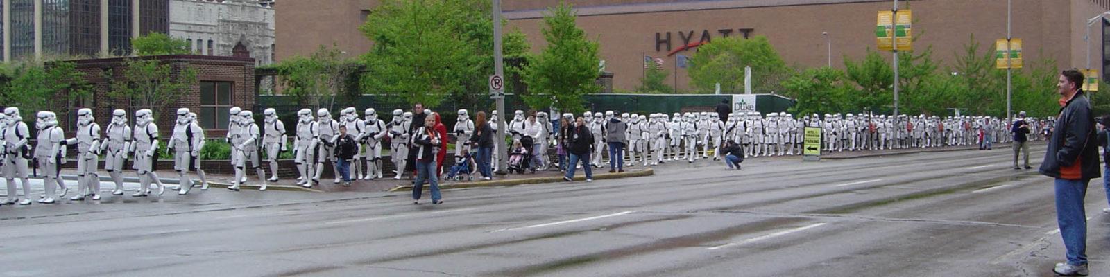 Celebration 3 - 501st Legion Stormtroopers