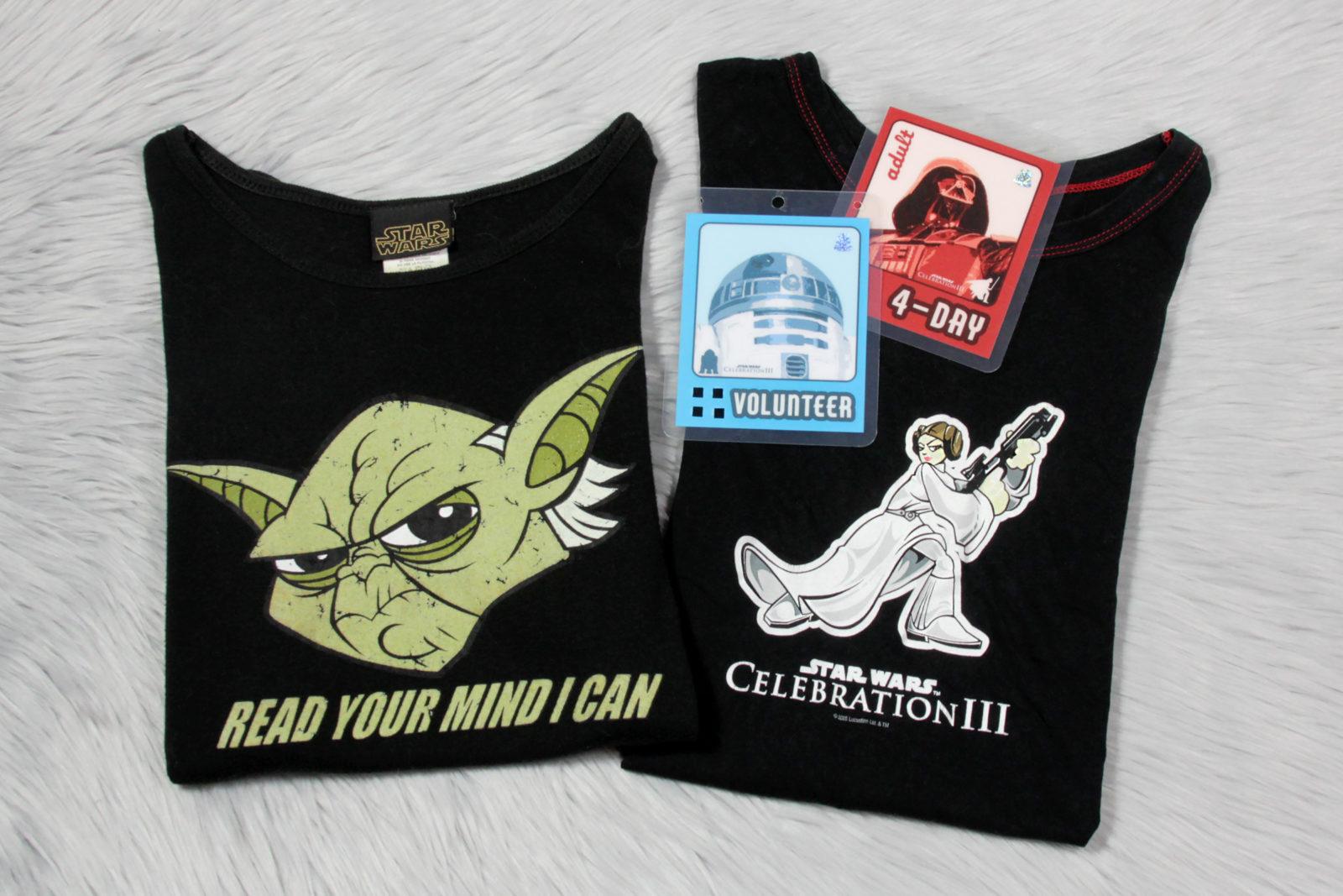 Celebration III T-Shirts and Badges