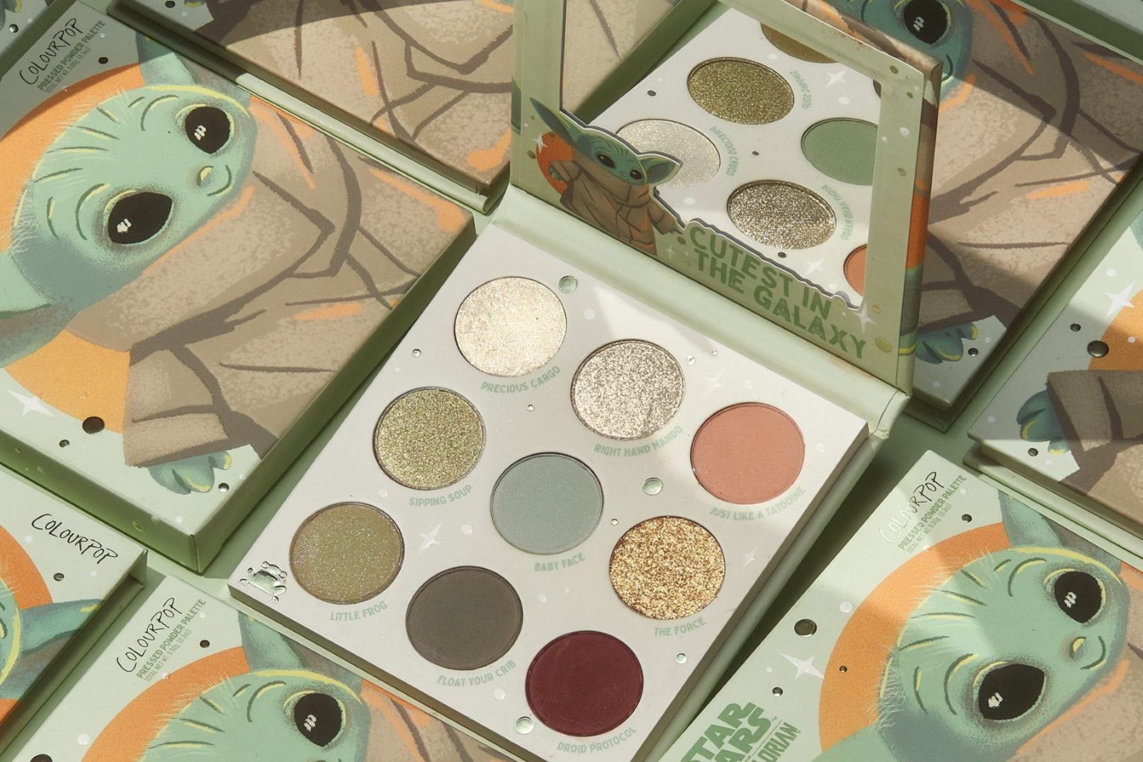 ColourPop The Child Eyeshadow Palette Out Now