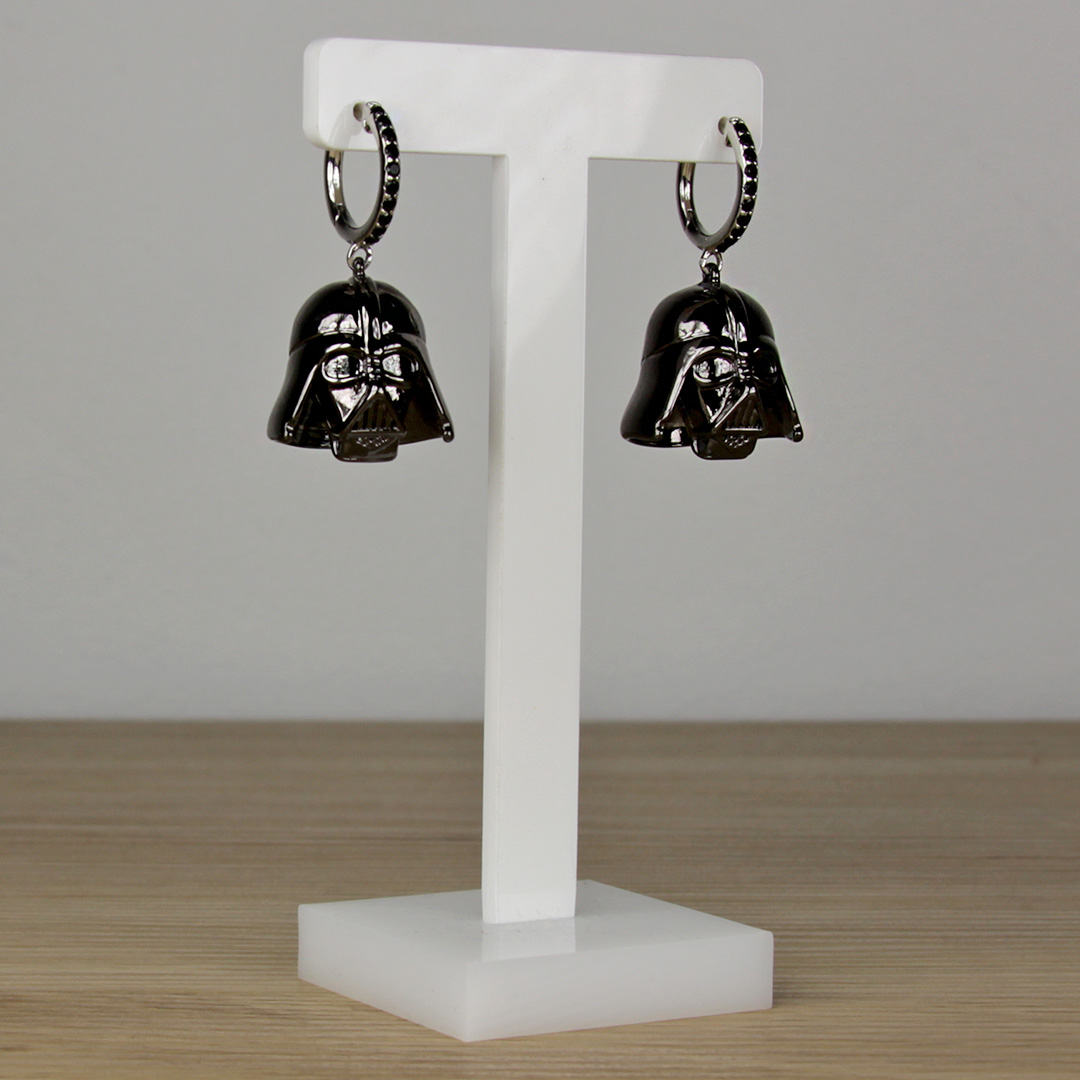 Couture Kingdom - Star Wars Darth Vader Earrings
